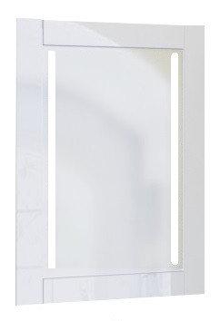 Зеркало Glass (Белый) с подсветкой., фото 2
