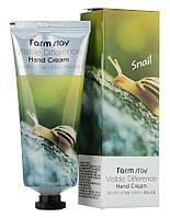 Крем для рук с муцином улитки от FarmStay