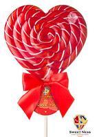 Карамель леденцовая в форме Сердца 120 гр. Sweet Ness, фото 1