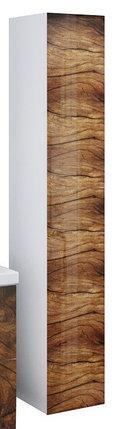 Пенал подвесной LACIO (Древесный). Стеклянный фасад. Левый/Правый., фото 2