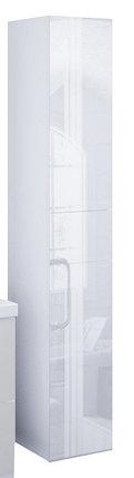 Пенал подвесной LACIO (Белый). Стеклянный фасад. Левый/Правый., фото 2
