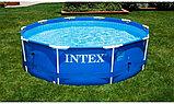 Каркасный круглый бассейн 305х76 см Intex 28200, фото 5