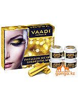 Набор по уходу за кожей с 24 каратным золотом (Instaglow 24 Carat Gold Facial Kit VAADI Herbals), 70 гр