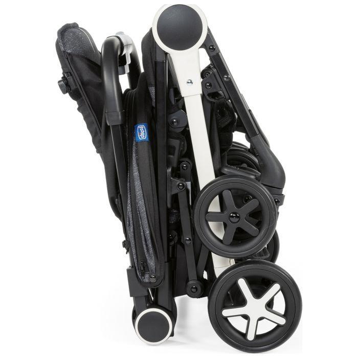 Chicco: Прогулочная коляска Miinimo3 Light Grey сер.