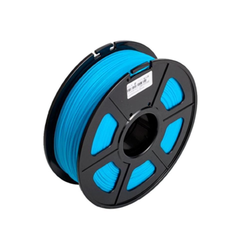 Пластик для 3D принтеров ABS, SunLu, светящийся, синий