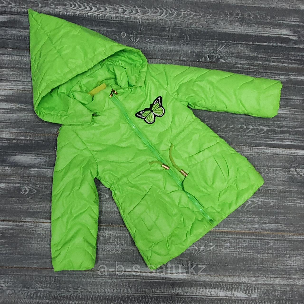Куртка зеленая с капюшоном (конус)