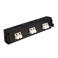 Лицевая вставка для MPO панелей Legrand LCS3, 6хLC, Duplex Multi mode, цвет: белый