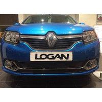 Защитная сетка/решетка радиатора для Renault Logan/Рено Логан 2014-
