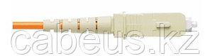Пигтейл Panduit, SC/UPC, OS2 9/125, Tight Buffer, OFNR, 1м, серый хвостовик, цвет: жёлтый