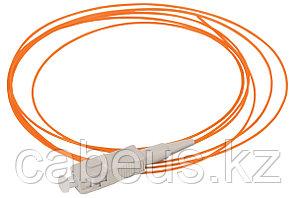 Пигтейл ITK, SC/UPC, OM2 50/125, Simplex, LSZH, 1,5м, бежевый хвостовик, цвет: оранжевый