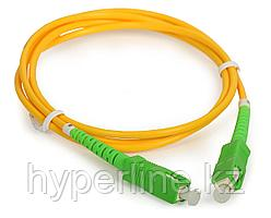 Предоконцованные волокна pigtail NTSS, SC/APC, OS1 9/125, Tight Buffer, PVC, 2х1,5м
