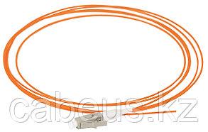 Пигтейл ITK, LC/UPC, OM2 50/125, Simplex, LSZH, 1,5м, белый хвостовик, цвет: оранжевый