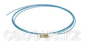 Пигтейл ITK, LC/UPC, OM4 50/125, Simplex, LSZH, 1,5м, чёрный хвостовик, цвет: голубой
