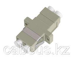 Проходной адаптер coupler Nikomax, LC/UPC MM, Duplex, бежевый
