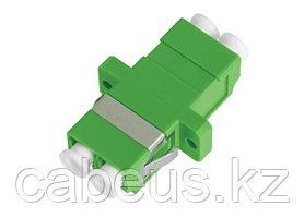 Проходной адаптер coupler Nikomax, LC/APC SM, Duplex, зелёный