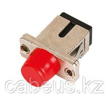 Проходной адаптер coupler Nikomax, SC-FC/UPC SM, Simplex, металл