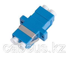 Проходной адаптер coupler Nikomax, LC/UPC SM, Duplex, синий