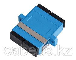 Проходной адаптер coupler Nikomax, SC/UPC SM, Duplex, синий