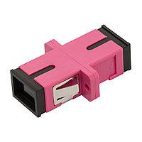 Адаптер Lanmaster, SC, Simplex, розовый