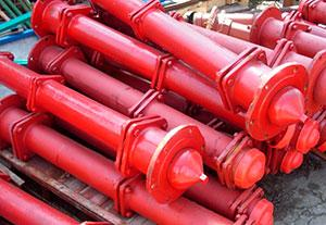 Гидрант пожарный 1,75 м (ГП-Н-1750мм) Сталь