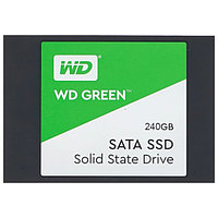 Твердотельный накопитель 240GB SSD WD GREEN 2.5 SATA3 R545Mb/s Толщина 7мм WDS240G2G0A