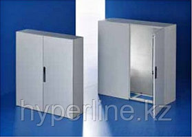 Шкаф электротехнический напольный Rittal СМ, IP55, 1000х1000х300 мм ВхШхГ, дверь: двойная распашная, металл,