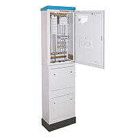 Шкаф распределительный Krone, 400 пар, 1750х512х232 мм ВхШхГ, ШРУ-2/400