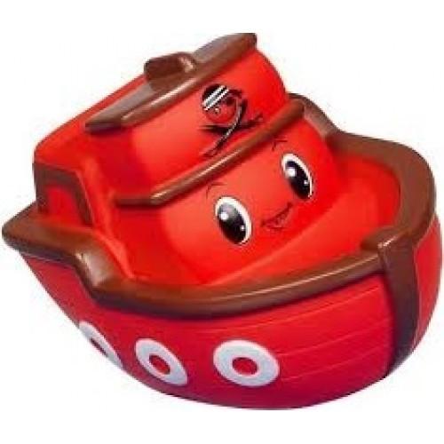 Simba Резиновый кораблик красный