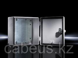 Шкаф электротехнический настенный Rittal EB, IP66, 200х200х120 мм ВхШхГ, монтажая панель: 185х175 ВхШ, корпус: