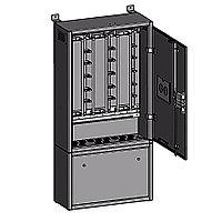 Шкаф распределительный Krone, 600 пар, 1250х500х1240 мм ВхШхГ, ШРП-2/600