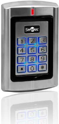Вандалозащищенный контроллер ST-SC141EHK для построения автономной СКУД на одну или две двери