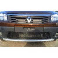 Защитная сетка/решетка радиатора для Renault Sandero Stepway/Рено Сандеро Степвей 2010-2014