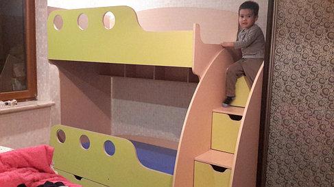 Двухъярусная кровать., фото 2