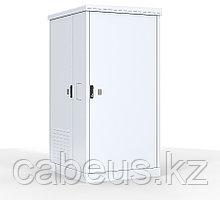 Шкаф уличный всепогодный напольный Pfannenberg ШТВ-2, IP65, 24U, 1310х1000х900 мм ВхШхГ, дверь: металл, кол-во