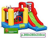 Надувной батут Игровой Центр 10 в 1 Happy Hop , фото 2