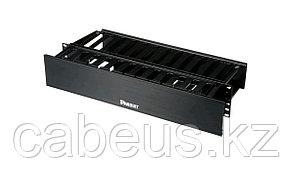 Организатор коммутационных шнуров Panduit, 2HU, 89х513х226 мм ВхШхГ, горизонтальный, с крышкой, для кабеля,