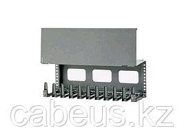 Организатор коммутационных шнуров Panduit, 4HU, 177х489х204 мм ВхШхГ, горизонтальный, с крышкой, для кабеля,