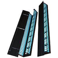 Организатор коммутационных шнуров TWT Business, 19, 47HU, 2071х107х190 мм ВхШхГ, вертикальный, металл, для