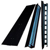 Организатор коммутационных шнуров TWT Business, 19, 42HU, 150х240 мм ШхГ, вертикальный, металл, для шкафов,