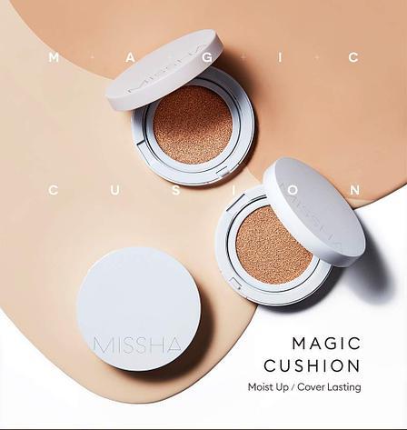 Кушон увлажняющий, Missha Magic Cushion Moist Up SPF50+/PA+++ (Тон №23), фото 2