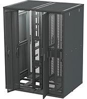 Дверь к шкафу Siemon, 42U, распашная перфорированная, для шкафов VersaPOD, цвет: чёрный