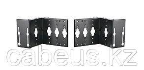 Кронштейн Panduit, винтовой, 115х185,6х100,5 мм ВхШхГ, вертикальный, для шкафов, цвет: чёрный