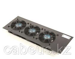 Вентиляторный модуль Siemon, 260V, вентиляторов: 3, 45 дБ, поток: 110 м3/ч, для шкафов, цвет: чёрный, с вилкой