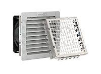 Вентиляторный модуль Pfannenberg PF 22.000 EMC, с фильтром, 24V, 145х145х75 мм ВхШхГ, вентиляторов: 1, 44 дБ, IP55, поток: 56 м3/ч, для шкафов, цвет: