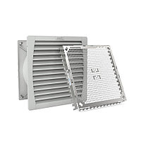 Вентиляторный модуль Pfannenberg PF 67.000 EMC, с фильтром, 115V, 320х320х157 мм ВхШхГ, вентиляторов: 1, 66 дБ, IP55, поток: 925 м3/ч, для шкафов,