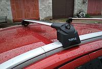 Багажник Turtle Air 2 на интегрированные рейлинги серые, фото 1