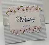 Свадебные пригласительные, пакет, бонбоньерки в одном стиле, фото 2