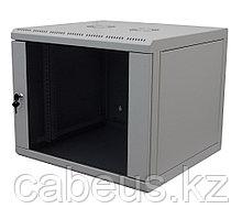 Шкаф телекоммуникационный настенный Canovate WSN, 19, 12U, 621х600х600 мм ВхШхГ, дверь: стекло, разборный,