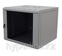 Шкаф телекоммуникационный настенный Canovate WSN, 19, 15U, 755х600х600 мм ВхШхГ, дверь: стекло, разборный,