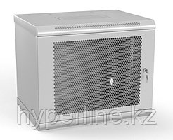 Шкаф телекоммуникационный настенный Hyperline TWL, 19, 15U, 775х600х450 мм ВхШхГ, дверь: перфорация, боковая